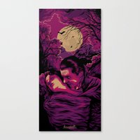 dracula Canvas Prints featuring Dracula by Denis O'Sullivan