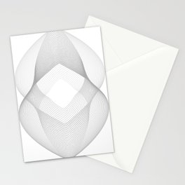 White Waves Stationery Cards