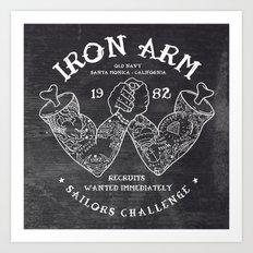 Iron Arm Art Print
