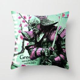 Arizona Samurai Aesthetics Throw Pillow