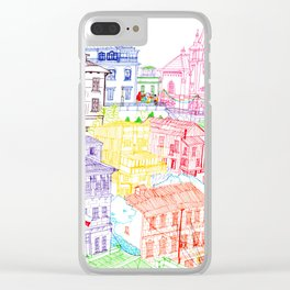 Valparaiso, Chile Clear iPhone Case