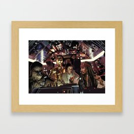 Kessel Rum Framed Art Print