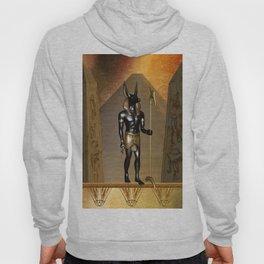Anubis the egyptian god Hoody