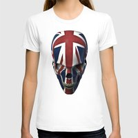 british flag T-shirts featuring British horror by GrandeDuc