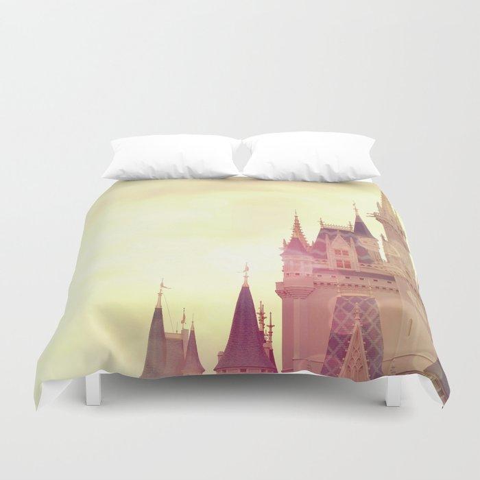 Disney Cinderella Castle Duvet Cover