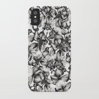 orchid iPhone & iPod Cases featuring orchid by GYYART