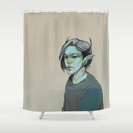 Monster #2 Shower Curtain