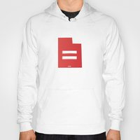 utah Hoodies featuring Utah Love by Tank Top Sunday