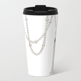 White Pearl Travel Mug