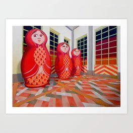 Matryoshka Art Print