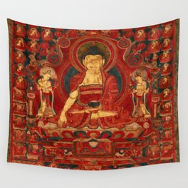 Buddha Shakyamuni as Lord of the Munis Wall Tapestry