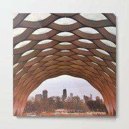 Lincoln Park Zoo Pavilion - Chicago, Illinois Metal Print