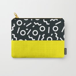 Memphis pattern 51 Carry-All Pouch