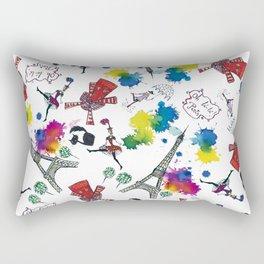 Oh, la-la,Paris! Rectangular Pillow
