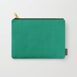 Jade Flat Color Carry-All Pouch