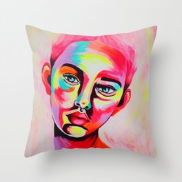 Marina Rose Throw Pillow