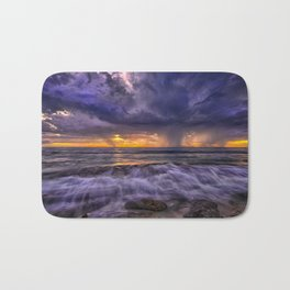 In coming Storm Bath Mat