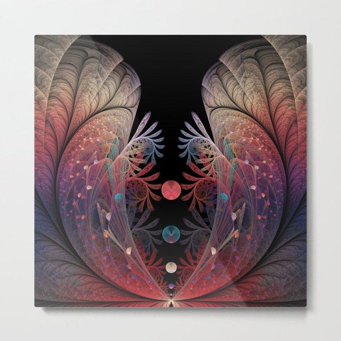 Jonglage, Abstract Fractal Art Metal Print