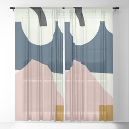 Shape Study #29 - Lola Collection Sheer Curtain