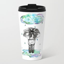 It's the Rain Metal Travel Mug