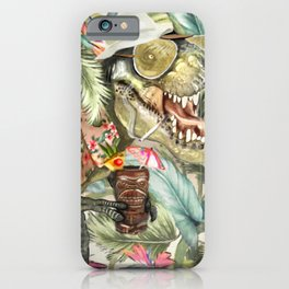 Hunter S. T-Rex iPhone Case