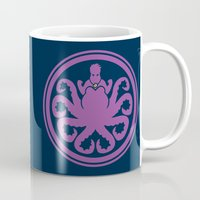 ursula Mugs featuring Hail Ursula by Randy van der Vlag