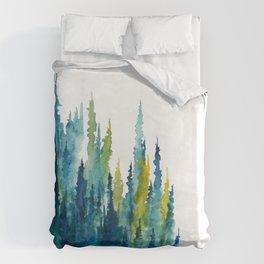 Limelight Pines - Pine Forest Duvet Cover