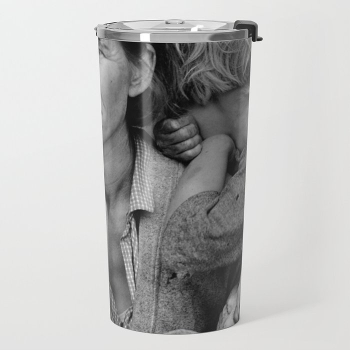 Migrant Mother Great Depression Travel Mug