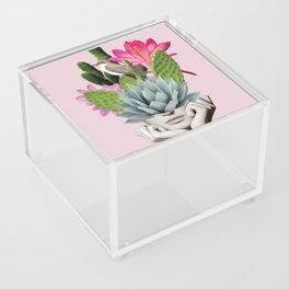 Cactus Lady Acrylic Box