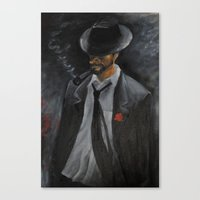 men Canvas Prints featuring Men by Anja Kidrič AdAk
