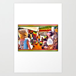 House Of Rastafari / Rototom Sunsplash 2011 Art Print