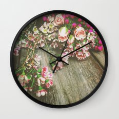She Had a Spirit That Was Wild and Free Wall Clock