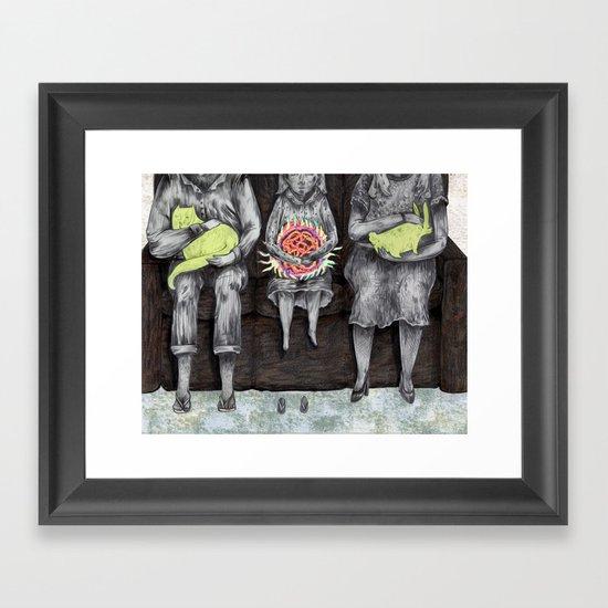 Souveniers. Framed Art Print