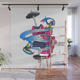 STRONG is a NEW SKINY Wall Mural