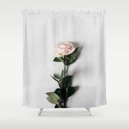 Minimalist Rose Shower Curtain
