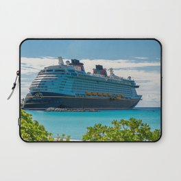 DCL Fantasy at Castaway Cay Bahamas  Laptop Sleeve