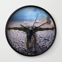 the slave  Wall Clock