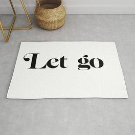 let go Rug