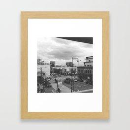 Denver Streets Framed Art Print
