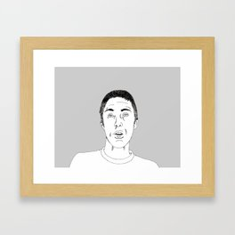 Pieter Framed Art Print