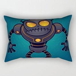 Angry Robot Rectangular Pillow