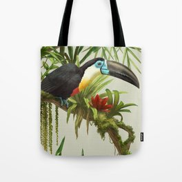 Channel- billed toucan vintage illustration. Tote Bag