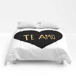 Te Amo Comforters