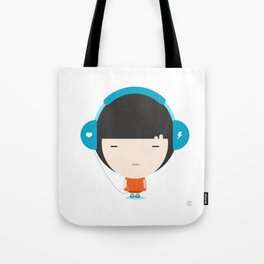 Helmet Girl: Jam Tote Bag