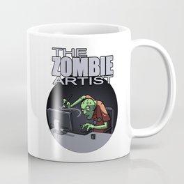 The Zombie Artist Coffee Mug