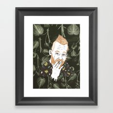 HIMSELF Framed Art Print