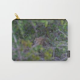 Leopard Staring Contest Carry-All Pouch