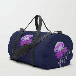 Ruffled Jellyfish Duffle Bag