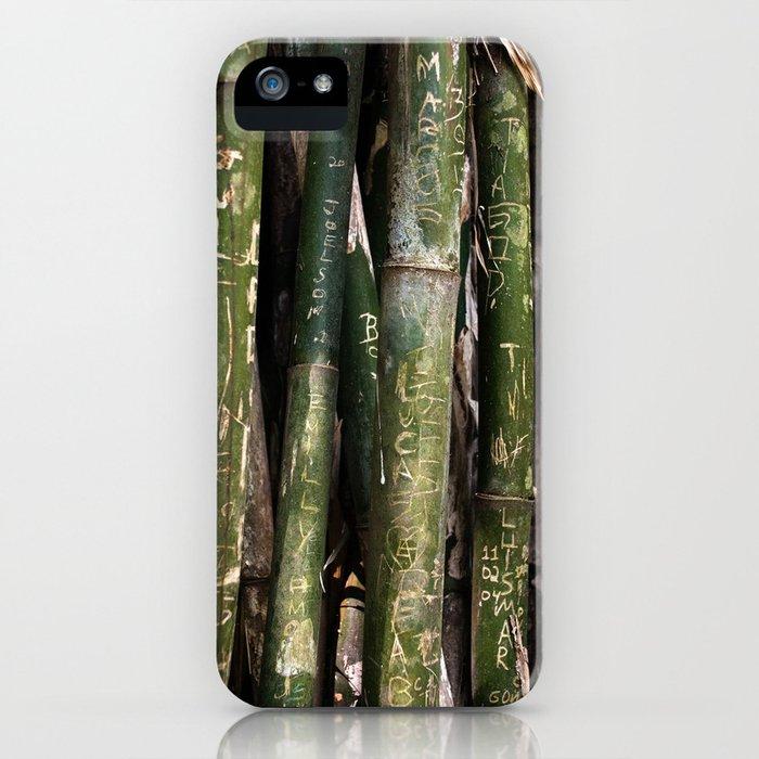 Bamboos in Maringá iPhone Case