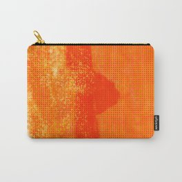 Abstract Oranje Carry-All Pouch